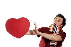 älska mer nr. Fotografering för Bildbyråer