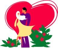 älska mooden vektor illustrationer