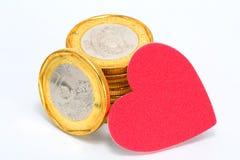 Älska pengar Royaltyfri Foto