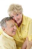 älska pensionär för par Royaltyfri Bild