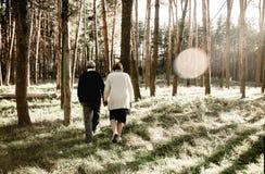 Älska pensionärbilder arkivbilder