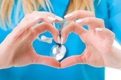 Älska sjukvård Royaltyfri Bild