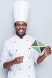 Älska som lagar mat nationell mat Fotografering för Bildbyråer