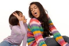 älska systrar för indier Royaltyfri Bild