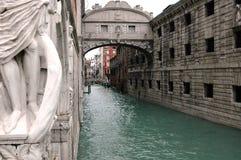 Älska vägen i Venedig Arkivfoton