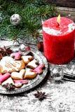Älskade julkakor Royaltyfri Fotografi