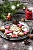 Älskade julkakor Royaltyfri Foto