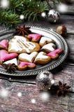 Älskade julkakor Royaltyfri Bild