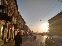 Älskade Lviv Arkivbilder
