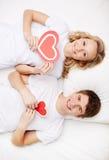 Älskar vem mer? Fotografering för Bildbyråer