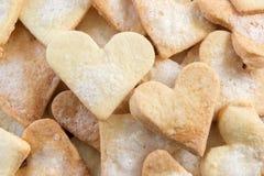 Älskling formade sockerkakor Arkivfoto