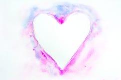 Älskling vattenfärgmålning Arkivbilder