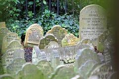 Älsklings- gravstenar Arkivbild