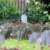 Älsklings- kyrkogård Arkivbilder