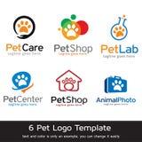 Älsklings- Logo Template Design Vector Stock Illustrationer
