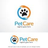 Älsklings- omsorg Logo Template Design Vector, emblem, designbegrepp, idérikt symbol, symbol Arkivfoton