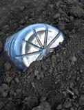 ÄLSKLINGS- plast- flaska för skräp i jord Royaltyfria Bilder