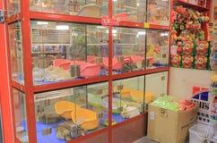 Älsklings- shoppa Mong Kok Hong Kong Arkivfoto