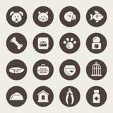 Älsklings- shoppa symboler stock illustrationer