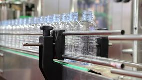 ÄLSKLINGS- vattenflaska i transportör Fotografering för Bildbyråer