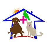 älsklings- veterinär- för omsorg royaltyfri illustrationer
