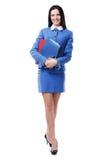 älskvärd affärskvinna Royaltyfri Fotografi