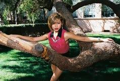 älskvärd brunettflicka Royaltyfria Foton