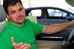 älskvärd chaufför Fotografering för Bildbyråer