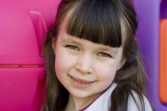 älskvärd flicka Royaltyfria Bilder
