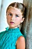 Älskvärd flicka i Venedig Fotografering för Bildbyråer