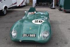 Älskvärd gammal klassisk Lotus Race bil royaltyfri foto