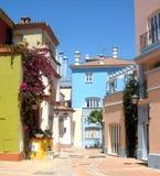 älskvärd gata för ciudadfuerte royaltyfri fotografi