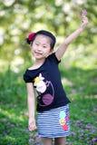 älskvärd kinesisk flicka Royaltyfria Foton