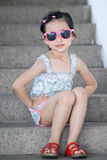 älskvärd kinesisk flicka Arkivfoto