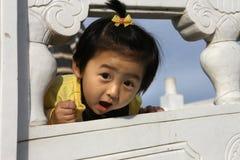 älskvärd kinesisk flicka Royaltyfri Bild