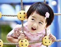 älskvärd kinesisk flicka Arkivbild