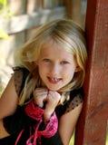 Älskvärd liten dam Royaltyfria Foton
