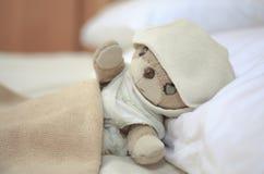 Älskvärd liten nallebjörn Royaltyfria Foton