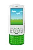 älskvärd mobil telefon Arkivfoton