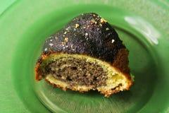 Älskvärd söt kaka Fotografering för Bildbyråer