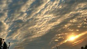 Älskvärd solnedgång Royaltyfria Foton