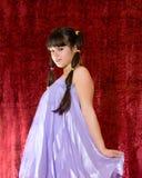 Älskvärd tonårig flicka fotografering för bildbyråer