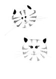 Älskvärda Cat Couple Royaltyfri Fotografi
