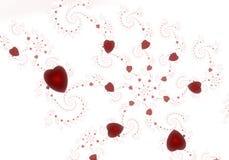 älskvärda hjärtor Arkivbilder