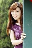 älskvärda kinesiska flickor Fotografering för Bildbyråer
