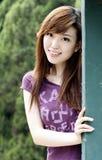 älskvärda kinesiska flickor Arkivfoto