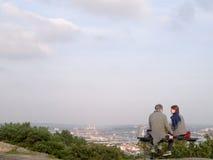 Älskvärda par, Göteborg - Sverige fotografering för bildbyråer