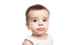 Älskvärt behandla som ett barn pojken arkivfoton