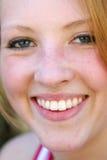 älskvärt leende arkivbild