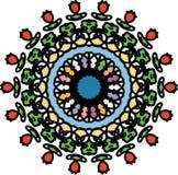 Älskvärt liv med den rosenfärgade mosaiken vektor illustrationer
